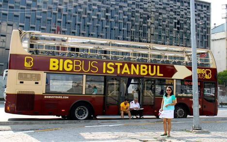 Big Bus in Istanbul