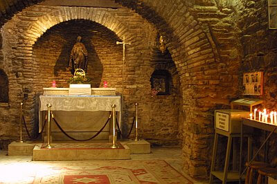 House of the Virgin Mary in Selcuk