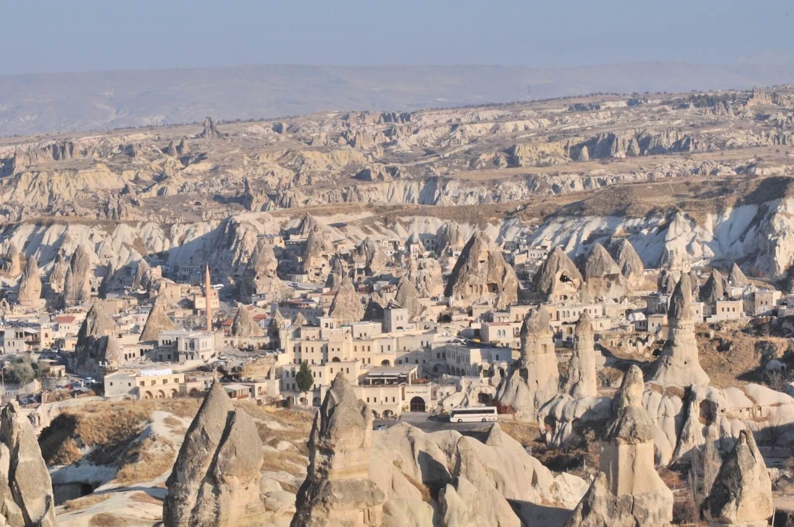 Goreme / Cappadocia / Nevsehir / Turkey - Fairy Chimneys