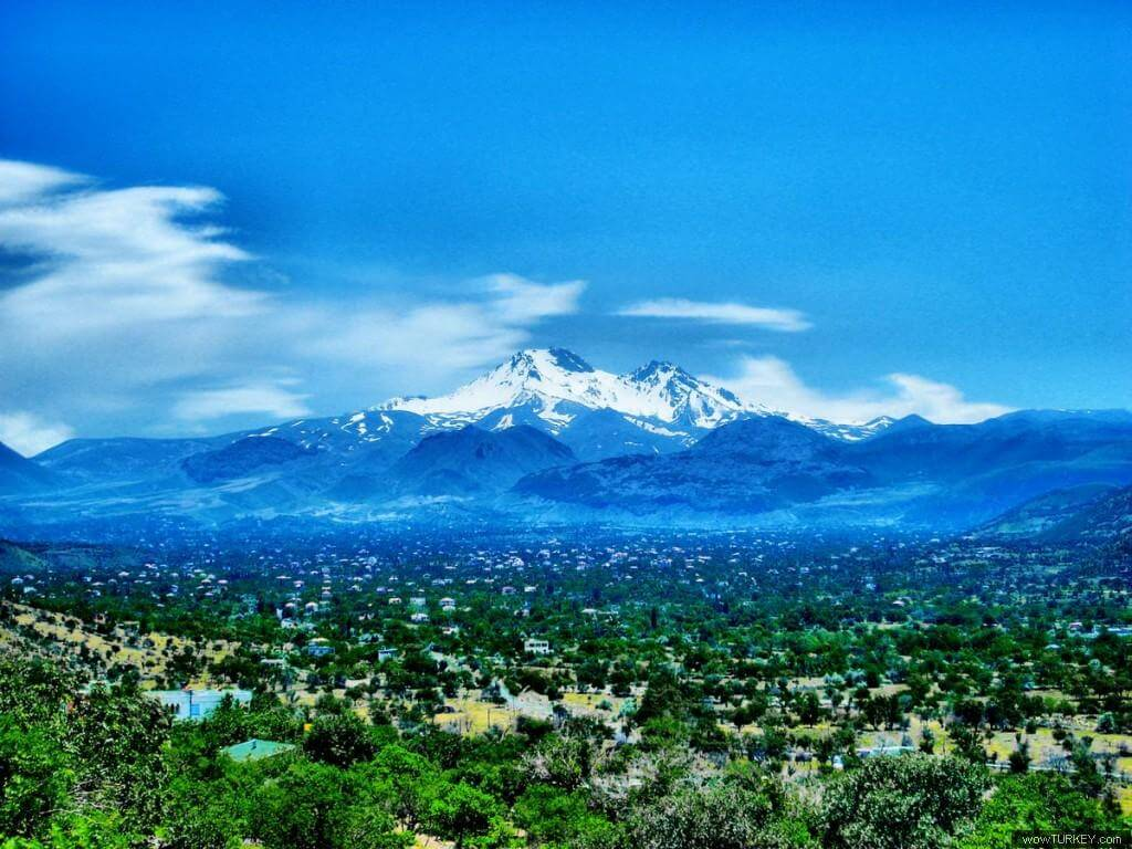 Erciyes Mountain / Kayseri / Turkey