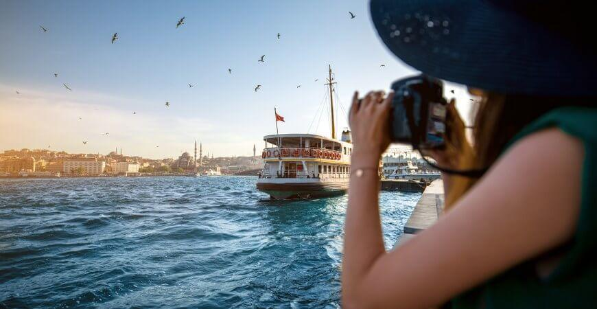 Bosphorus Cruise and Cabble Car Tour