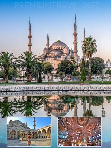 You will be able to see the Blue Mosque with our the best Istanbul city tour.