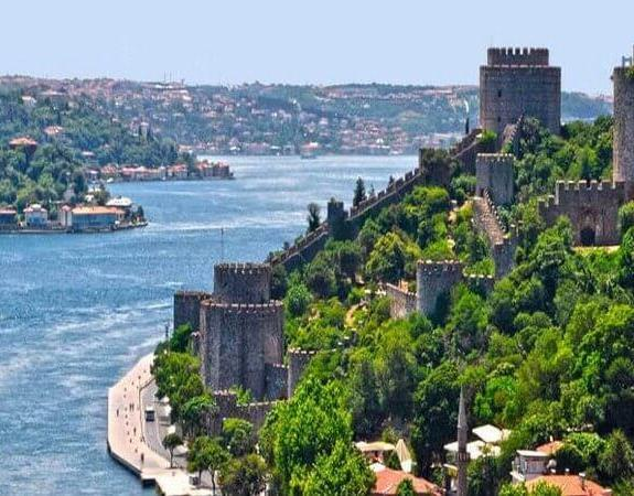 Bosphorus Cruise | Byzantine City Walls, two continents