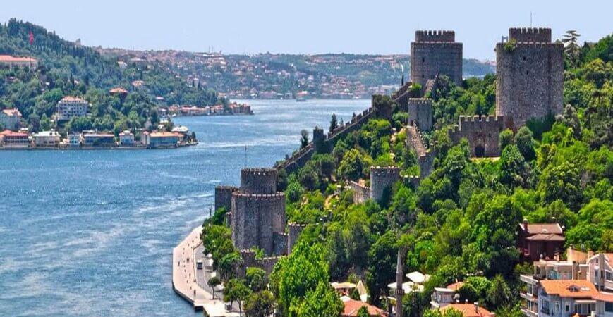 Bosphorus Cruise | Byzantine City Walls, two continents