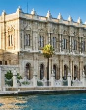 You can see the Dolmabahce Palace with Bosphorus Cruise and two continents tours