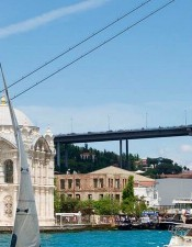 Ortakoy Mosque is a very historical sight in Istanbul. With our Bosphorus Cruise tours, you will able to see this areas.