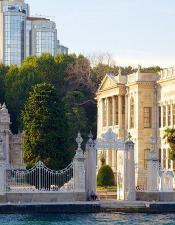 You are going to have a chance to see Dolmabahce Palace.