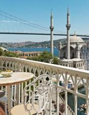 You will see the Ortakoy Mosque with Bosphorus Cruise.