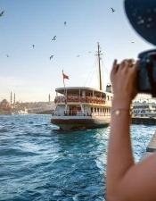 You can take amazing photos with Bosphorus Lunch Cruises