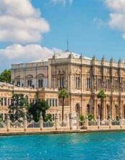 You can see Dolmabahce Palace from the sea bu joining our tours with best price guaranteed.