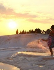 If you want to make wonderful trip to Pamukkale and want to join from Izmir, you can book a Pamukkale tour from our website with best price and service guarantee.
