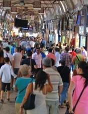 If you want to visit the largest marketplace with a tour guide, we suggest you to join our Istanbul Tours.