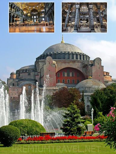 You are going to visit inside of the Hagia Sophia with this Istanbul tour.