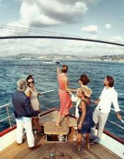 You can enjoy with your friends while you are joining to the Bosphorus Sightseeng Cruise.