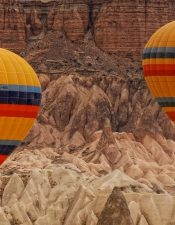 You can book the best hot air balloon in Cappadocia on our website.