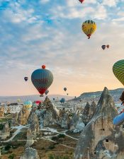 Are you looking for a cheap Cappadocia hot air balloon tour? You are looking on a right page! You can make a reservation for hot air balloon flight in Cappadocia on our website with secured connection.
