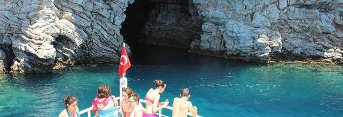 We spend our time amazing on the Marmaris boat trip.