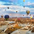Evert traveler who comes to Turkey should ride a hot air ballon in Cappadocia. Because Cappadocia offers you to see the beautiful landscape from the top.