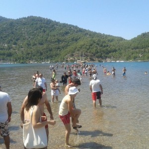 If you want to see the Kizilkum Beach in Marmaris, you can join our boat trips in Marmaris with the best price and service guarantee.