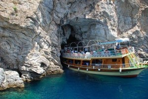 You will see the Phosphorous Cave in Marmaris when you join us on the boat trip.